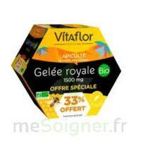 Vitaflor Bio Gelée Royale 1500mg Solution Buvable 20 Ampoules/15ml Promotion à BOLLÈNE
