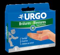 Urgo Brulures-blessures Petit Format X 6 à BOLLÈNE