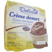 Delical Creme Dessert Hp Hc Sans Lactose, Pot 200 G X 4 à BOLLÈNE