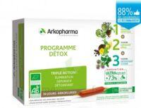 Arkofluide Bio Ultraextract Coffret Programme Détox 3x10 Ampoules/10ml à BOLLÈNE