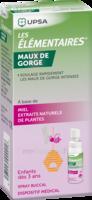 Les Elementaires Spray Buccal Maux De Gorge Enfant Fl/20ml à BOLLÈNE