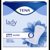Tena Lady Protection Anatomique Adhésive Super Sachet/30 à BOLLÈNE
