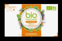 Nutrisanté Infusions Bio Tisane Foie Et Intestin 20 Sachets à BOLLÈNE