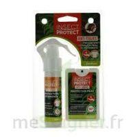 Insect Protect Spray Peau + Spray VÊtements Fl/18ml+fl/50ml à BOLLÈNE