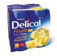 Delical Boisson Fruitee Nutriment Ananas 4bouteilles/200ml à BOLLÈNE
