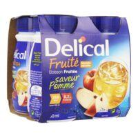 Delical Boisson Fruitee Nutriment Pomme 4bouteilles/200ml à BOLLÈNE