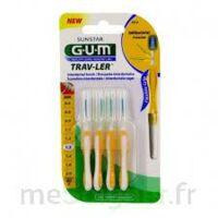 Gum Trav - Ler, 1,3 Mm, Manche Jaune , Blister 4 à BOLLÈNE