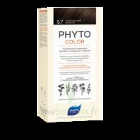 Phytocolor Kit Coloration Permanente 5.7 Châtain Clair Marron à BOLLÈNE