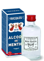 Ricqles 80° Alcool De Menthe 100ml à BOLLÈNE