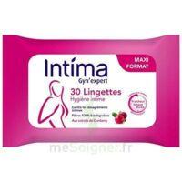Intima Gyn'expert Lingettes Cranberry Paquet/30 à BOLLÈNE