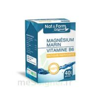 Nat&form Expert Magnésium+vitamine B6 Gélules B/40 à BOLLÈNE