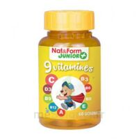 Nat&form Junior Ours Gomme Oursons 9 Vitamines B/60 à BOLLÈNE