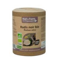 Nat&form Eco Responsable Radis Noir Bio Gélules B/200 à BOLLÈNE