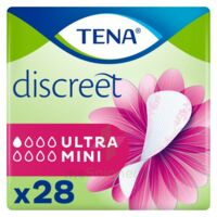 Tena Discreet Protection Urinaire Ultra Mini Sachet/28 à BOLLÈNE