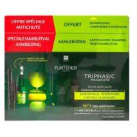 René Furterer Triphasic Progressive Sérum Antichute Coffret 8 Flacons X 5,5ml + Shampoing Stimulant 100 Ml à BOLLÈNE