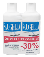 Saugella Emulsion Dermoliquide Lavante 2fl/500ml à BOLLÈNE